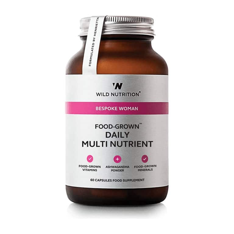 Wild Nutrition - Bespoke Women - Food-Grown Daily Multi Nutrient (90 kps.)