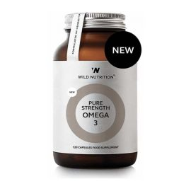 Wild Nutrition Food-Grown Pure Strenght Omega3 (120 kps.)