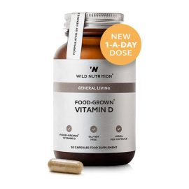 Wild Nutrition Food-Grown Vitamin D (30 kps.)