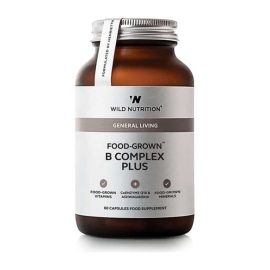 Wild Nutrition Food-Grown B Kompleks plus (60 kps.)