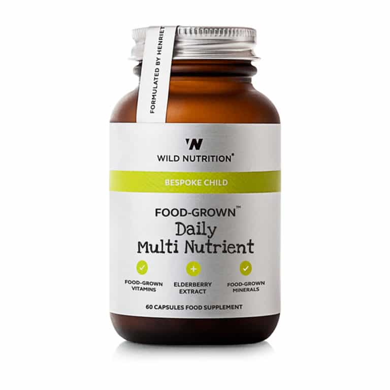 Wild Nutrition - Bespoke Child - Food-Grown Daily Multi Nutrient (60 kps.)