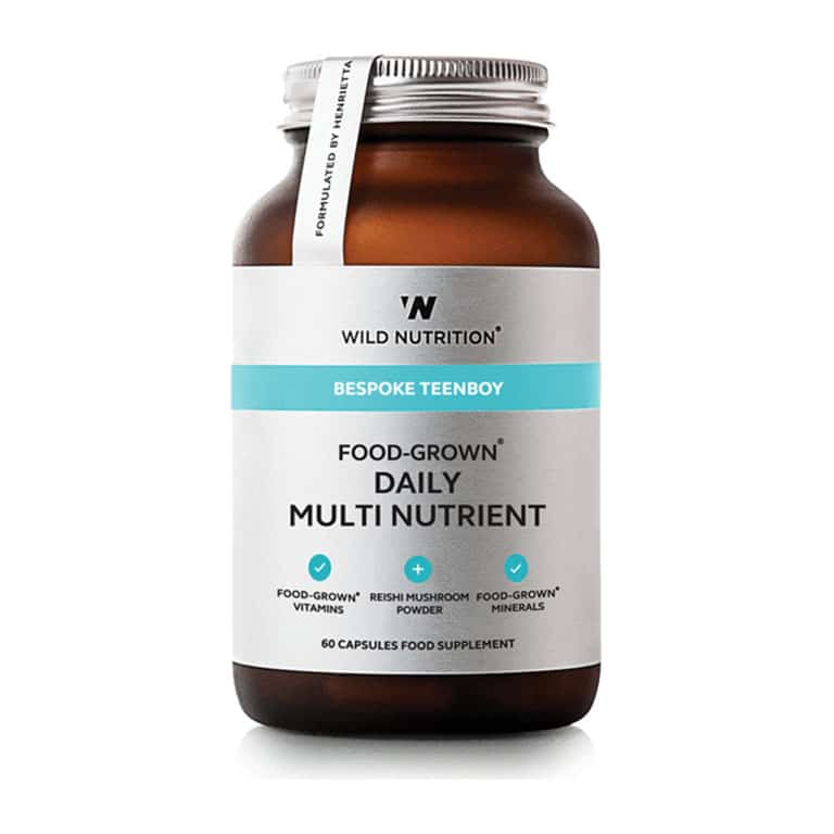 Wild Nutrition - Bespoke Teenboy - Food-Grown Daily Multi Nutrient (60 kps.)