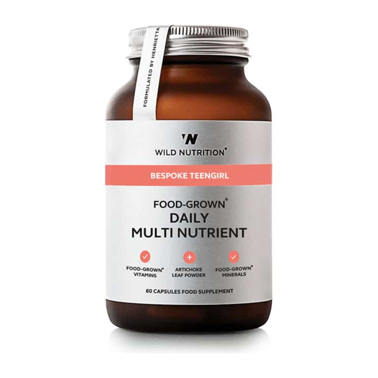 Wild Nutrition - Bespoke Teengirl - Food-Grown Daily Multi Nutrient (90 kps.)