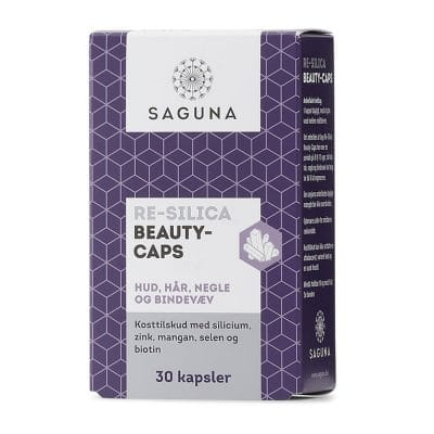 Saguna Re-Silica Beauty Caps (30 kps.)
