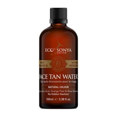 Eco by Sonya Selvbruner Face Tan water til sensitiv hud (100 ml)
