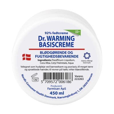 Dr. Warming Basiscreme (450 ml)