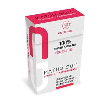 Natur Gum Red Fruits with xylitol (20 g)