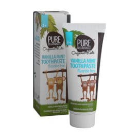 Pure Beginnings Vanilla Mint Toothpaste with xylitol (75 ml)